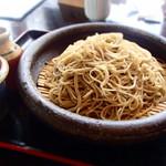 くろつぼ - 田舎粗挽き蕎麦(大盛り)