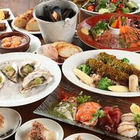 カジュアルフレンチの絶品料理が楽しめる、充実のコース☆