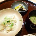 祇園 又吉 - 竹の子ご飯