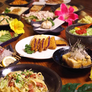 地元の食材にこだわった料理の数々
