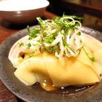 串あげ ムタヒロ - 麺のお刺身