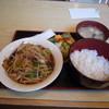 一龍 川たか - 料理写真:野菜炒め定食