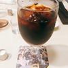 喫茶室ルノアール - ドリンク写真:『水出しアイスコーヒー』様(値段忘れた)ん?なんかいつもとコースター違うくない??