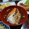 民宿のなか - 料理写真:蟹入りのお吸い物