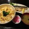 日本料理 竹むら - 料理写真:地鶏親子丼とトロ鯖塩焼きセット ¥800