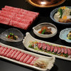 しゃぶ禅 - 料理写真:牛づくしコース