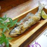 魚富 - 料理写真:鮎の塩焼き