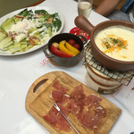 横浜チーズカフェ - セットの?何品かを