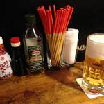 む鉄砲 - 生ビール463円