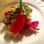 アルペンジロー - プチセットのサラダ