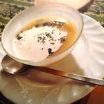 53042177 - プチセットの西京味噌を使った冷たいスープ