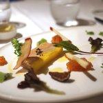 レストラン トライベックス - 冷製フォアグラ、オレンジのマルメラードとのマリアージュ