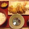ジョイフル - 料理写真:とり天定食