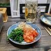 はかた亭 - 料理写真:キムチとナムルの盛合せ。