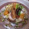ル・ヴァン - 料理写真:近海産魚介と本マグロのバルサミコ酢ソース 彩り野菜を添えて