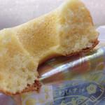 松月堂 わびすけ - 料理写真:ふわふわの断面