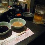 鍋ぞう - ゴマたれとポン酢
