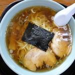 ドライブイン坂本 - 料理写真:ラーメン(\600税込み)
