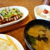 びっくりドンキー - 料理写真:イカの箱舟(\494税込み)、和セット(\429税込み)