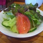 コックさん - 野菜サラダ