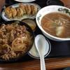 醤醤 - 料理写真:牛丼+餃子+小ラーメン 770円(第八回投稿分①)