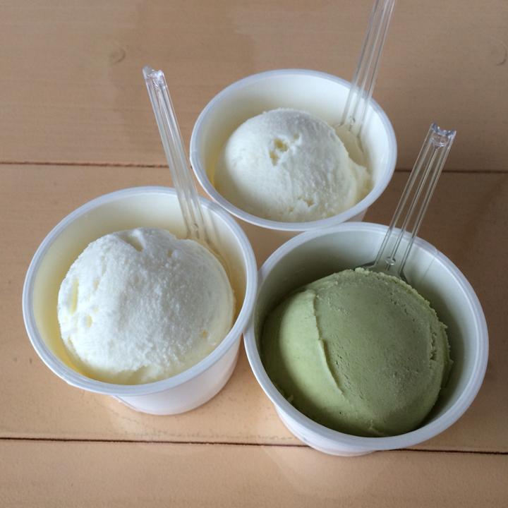 島のアイスクリーム屋 トリトン