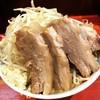 ラーメン二郎 - 料理写真:小ラーメン 豚入り