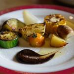 炭火割烹 蔓ききょう - 焼き野菜