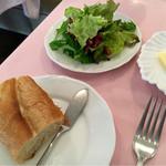 ル・タブリエ - サラダ & 自家製パン