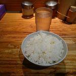 武蔵家 - 「武蔵家 大井町店」平成28年7月3日(日)再訪問 普通盛りの無料ライス
