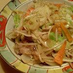 大衆魚酒場 豊年満作 - 野菜炒め
