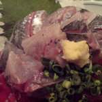 大衆魚酒場 豊年満作 - アジ アップ