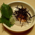 大衆魚酒場 豊年満作 - イカ納豆