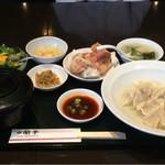 蘭亭 - 水餃子定食(800円)