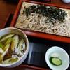 江戸そば きちじ - 料理写真:かしわざる960円+大盛100円