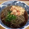 あずさ - 料理写真:桜エビ天ぷら蕎麦¥550