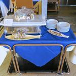 レストラン ストックホルム - チーズのワゴン