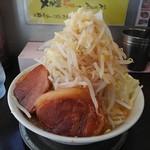 G麺屋 - マッチョ麺:大盛り