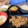 吉野家 - 料理写真:「麦とろ牛皿御膳(並) 580円」