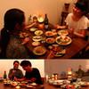 トラベラーズカフェ朔 - 料理写真:ディナーはランプの灯りのしたで、今日の出来事にゆったりと話の花を咲かせてください。