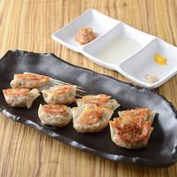 生姜ごろごろカミナリ餃子