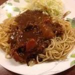 喫茶 岩田 - 料理写真:カレースパゲティ