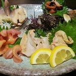 沖ちゃん - 本日の貝類盛り合わせ(1980円)