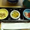 旅籠しび荘 - 料理写真:夕食①(前菜)