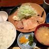 みのや - 料理写真:豚ロース味噌焼き800円
