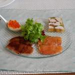 唐草館 - 料理写真:前菜