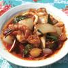 アムリタ食堂 - 料理写真:夏のディナーおすすめ!海鮮のトムヤム炒め