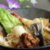 静内エクリプスホテル スカイレストランSAKURA - 料理写真:特製冷やし讃岐うどん(夏季限定)