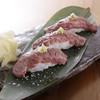 沖縄酒場 ごっぱち - 料理写真:もとぶ牛あぶり寿司