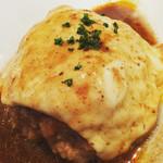 肉バル 将泰庵 - 肉汁ー♡スプーンで食べるハンバーグ初めて!